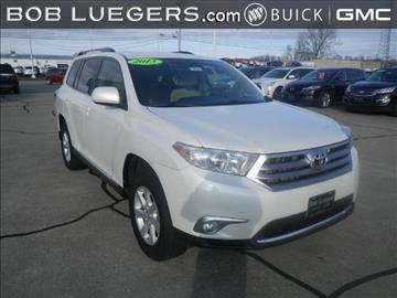 2013 Toyota Highlander for sale in Jasper, IN