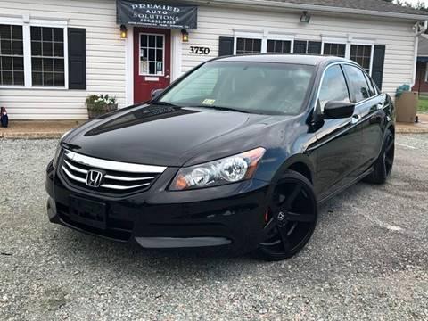 2012 Honda Accord for sale in Quinton, VA