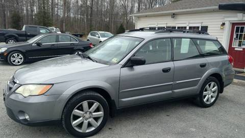 2008 Subaru Outback for sale at Premier Auto Solutions & Sales in Quinton VA