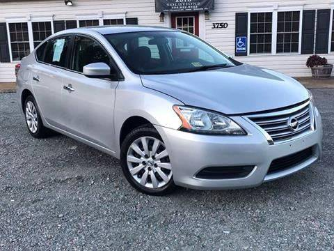 2015 Nissan Sentra for sale at Premier Auto Solutions & Sales in Quinton VA