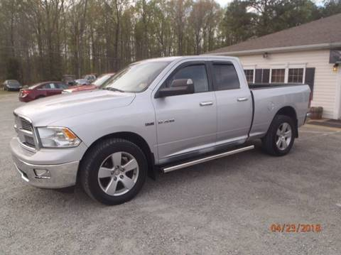 2010 Dodge Ram Pickup 1500 for sale at Premier Auto Solutions & Sales in Quinton VA