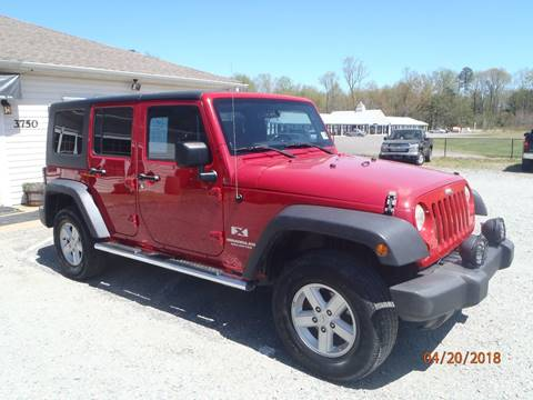 2007 Jeep Wrangler Unlimited for sale at Premier Auto Solutions & Sales in Quinton VA