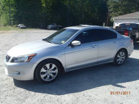 2010 Honda Accord for sale at Premier Auto Solutions & Sales in Quinton VA