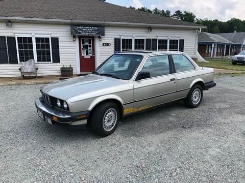 1987 BMW 3 Series For Sale In Quinton VA