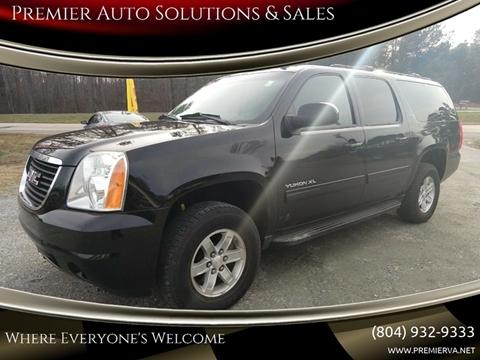 2011 GMC Yukon XL for sale in Quinton, VA