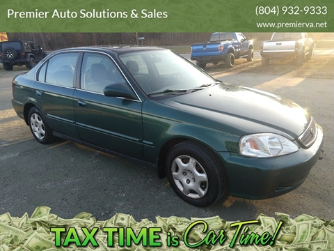 1999 Honda Civic for sale in Quinton, VA