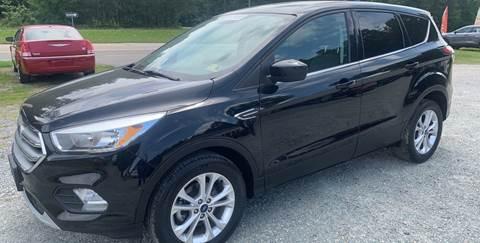 2017 Ford Escape for sale in Quinton, VA