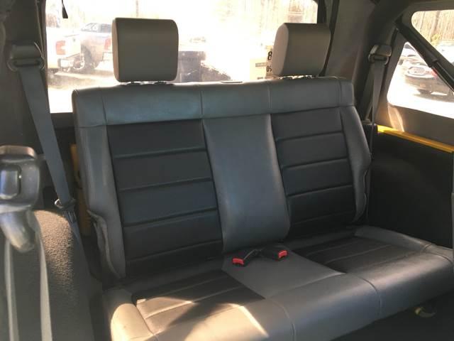 2008 Jeep Wrangler 4x4 X 2dr SUV - Quinton VA