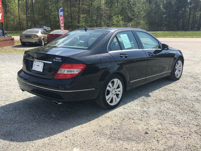 2010 Mercedes-Benz C-Class AWD C 300 Luxury 4MATIC 4dr Sedan - Quinton VA