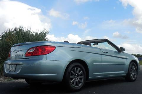2009 Chrysler Sebring for sale at Performance Autos of Southwest Florida in Fort Myers FL