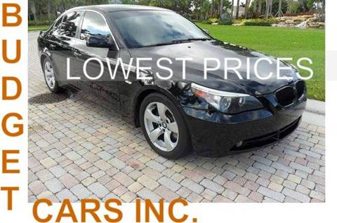 2007 BMW 5 Series for sale in Fort Lauderdale, FL