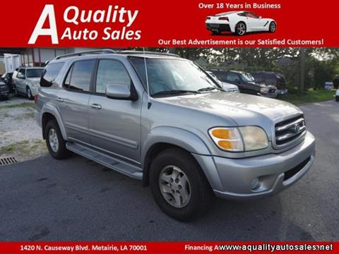 2002 Toyota Sequoia for sale in Metairie, LA