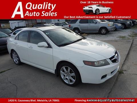 2005 Acura TSX for sale in Metairie, LA