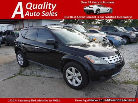 2007 Nissan Murano for sale in Metairie, LA