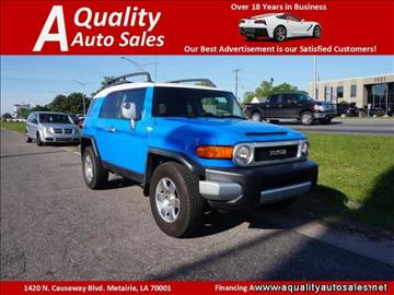 2007 Toyota FJ Cruiser for sale in Metairie, LA