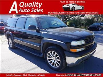 2002 Chevrolet Suburban for sale in Metairie, LA