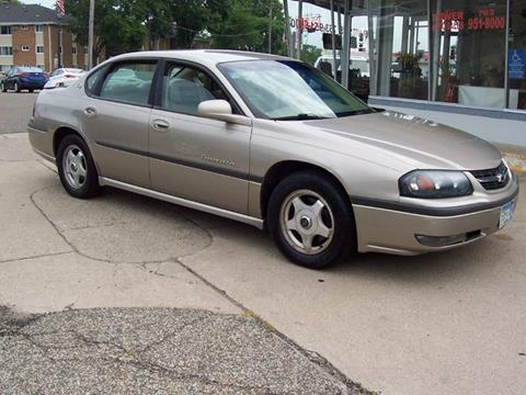 2002 Chevrolet Impala for sale in Minneapolis, MN