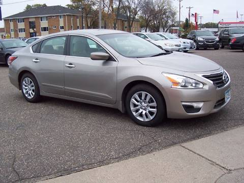 2015 Nissan Altima for sale at TOWER AUTO MART in Minneapolis MN