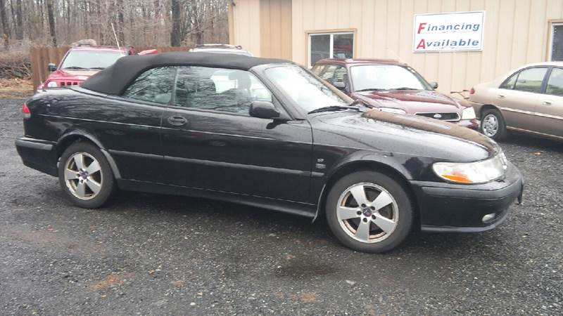 2002 Saab 9-3 2dr SE Turbo Convertible - North Franklin CT