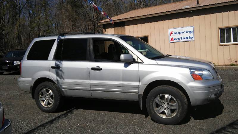 2003 Honda Pilot 4dr EX-L 4WD SUV w/ Leather and Entertainment System - North Franklin CT