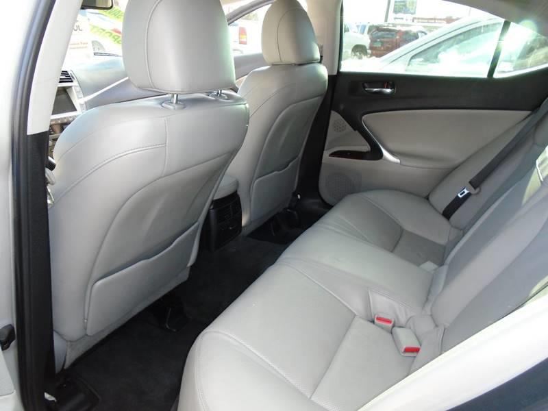 2007 Lexus IS 250 AWD 4dr Sedan (2.5L V6 6A) - Visalia CA