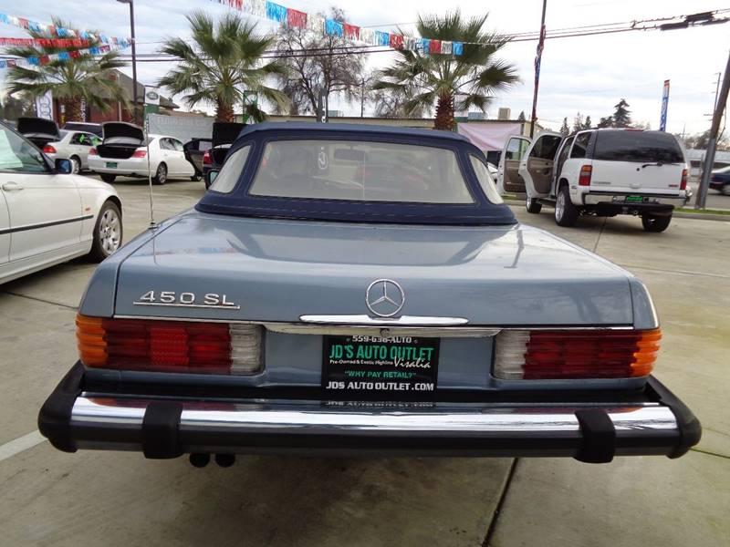 1977 Mercedes-Benz 450-Class SL - Visalia CA