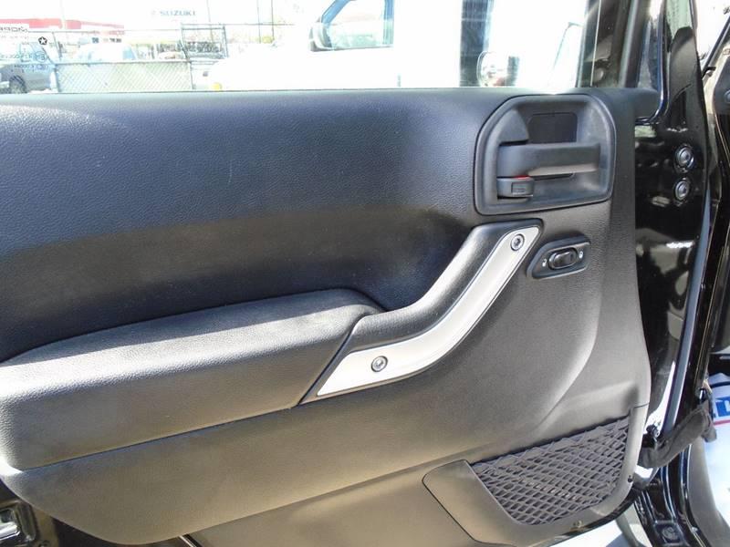 2013 Jeep Wrangler Unlimited 4x4 Sahara 4dr SUV - Visalia CA