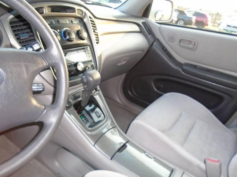 2002 Toyota Highlander 2WD 4dr SUV - Visalia CA