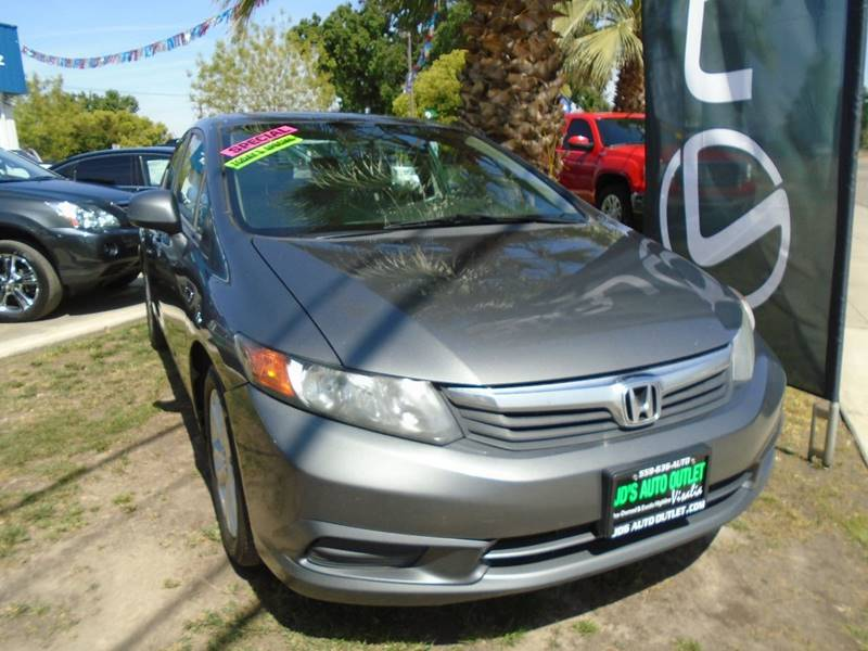 2012 Honda Civic EX 4dr Sedan - Visalia CA