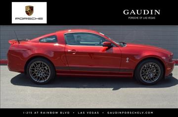 2014 Ford Shelby GT500 for sale in Las Vegas, NV
