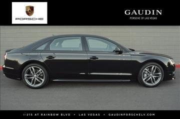 2017 Audi A8 L for sale in Las Vegas, NV