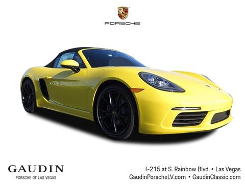 2018 Porsche 718 Boxster for sale in Las Vegas, NV