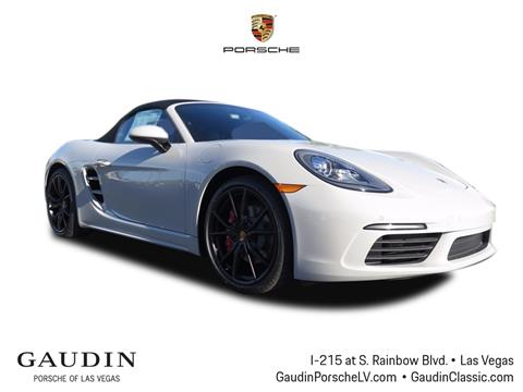 2018 Porsche 718 Boxster for sale in Las Vegas, NV