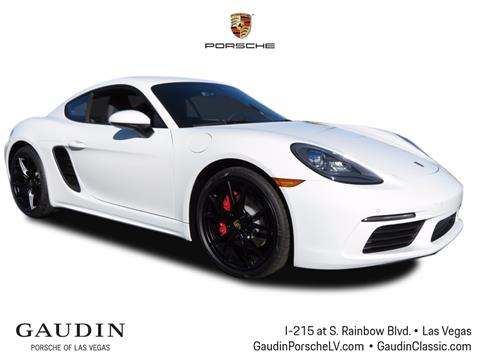 2018 Porsche 718 Cayman for sale in Las Vegas, NV