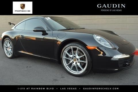 2014 Porsche 911 for sale in Las Vegas, NV