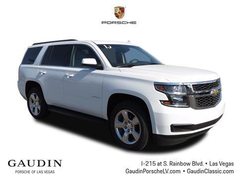 2015 Chevrolet Tahoe for sale in Las Vegas, NV