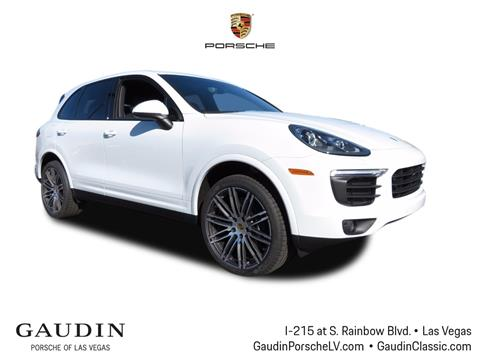 2018 Porsche Cayenne for sale in Las Vegas, NV