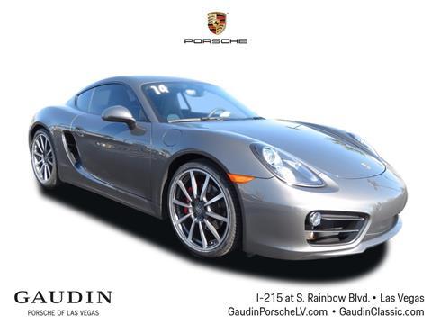 2014 Porsche Cayman for sale in Las Vegas, NV