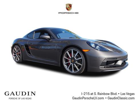 2018 Porsche 718 Cayman for sale in Las Vegas, NV