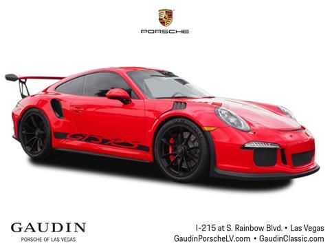 2016 Porsche 911 for sale in Las Vegas, NV