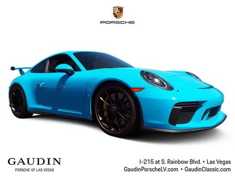2018 Porsche 911 for sale in Las Vegas, NV