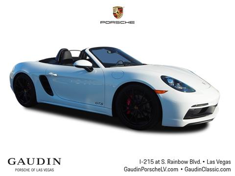 2019 Porsche 718 Boxster for sale in Las Vegas, NV