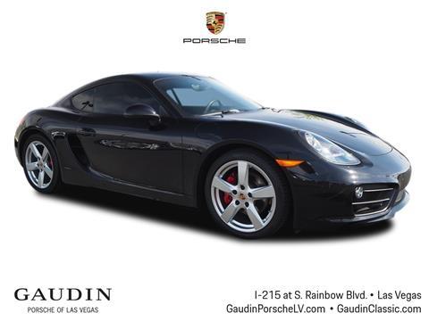 2015 Porsche Cayman for sale in Las Vegas, NV