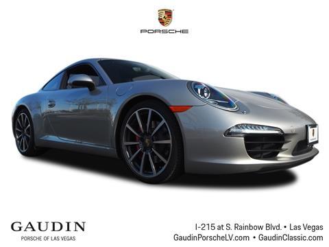 2013 Porsche 911 for sale in Las Vegas, NV