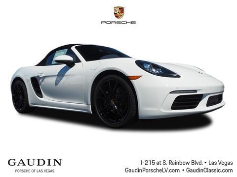 2019 Porsche 718 Boxster for sale in Las Vegas, NV