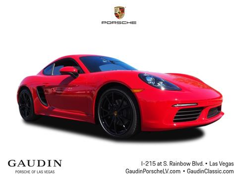 2019 Porsche 718 Cayman for sale in Las Vegas, NV