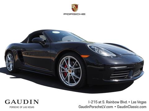 2017 Porsche 718 Boxster for sale in Las Vegas, NV