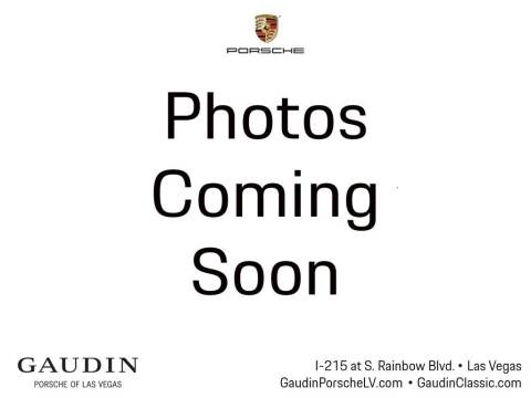 2020 Porsche Cayenne S Coupe for sale at Gaudin Porsche in Las Vegas NV
