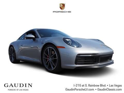 2020 Porsche 911 for sale at Gaudin Porsche in Las Vegas NV