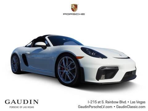 2020 Porsche 718 Boxster for sale at Gaudin Porsche in Las Vegas NV